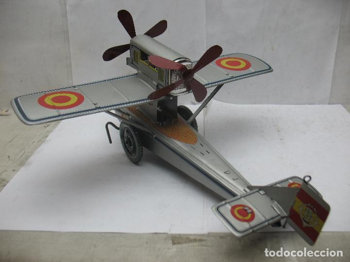 Juguetes antiguos Payá: PAYÁ Ref: 1653 - Réplica avión de la Colección Payá Hermanos 1985 - Foto 12 - 64649459