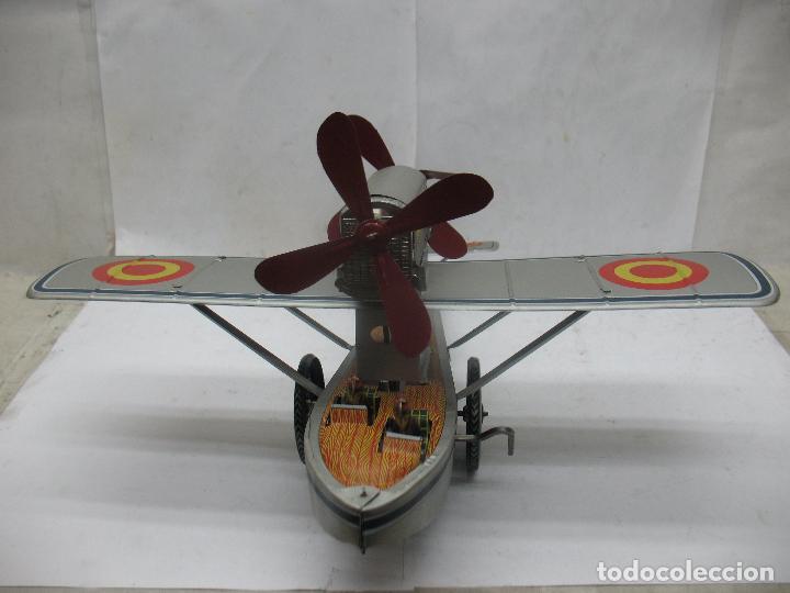 Juguetes antiguos Payá: PAYÁ Ref: 1653 - Réplica avión de la Colección Payá Hermanos 1985 - Foto 13 - 64649459