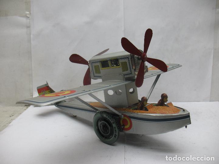 Juguetes antiguos Payá: PAYÁ Ref: 1653 - Réplica avión de la Colección Payá Hermanos 1985 - Foto 14 - 64649459