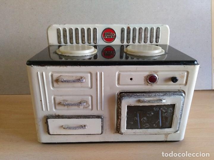 Antigua cocina electrica de hojalata paya a o comprar - Cocinas anos 50 ...