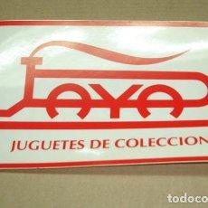 Juguetes antiguos Payá: ADHESIVO PAYA 16,5 X 10,5 . Lote 66176230