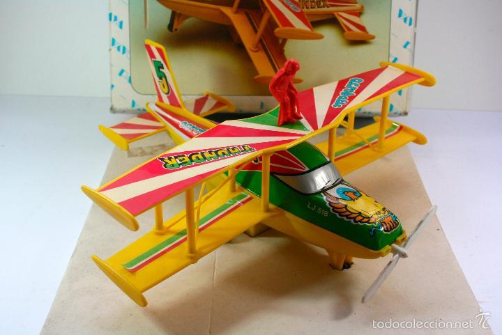 Juguetes antiguos Payá: AVIONETA A FRICCION MARCA PAYA - tin toy car 1970-80 - Foto 2 - 66526298