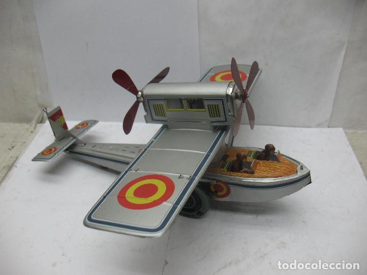 Juguetes antiguos Payá: PAYÁ Ref: 1653 - Réplica avión de la Colección Payá Hermanos 1985 - Foto 2 - 67570993