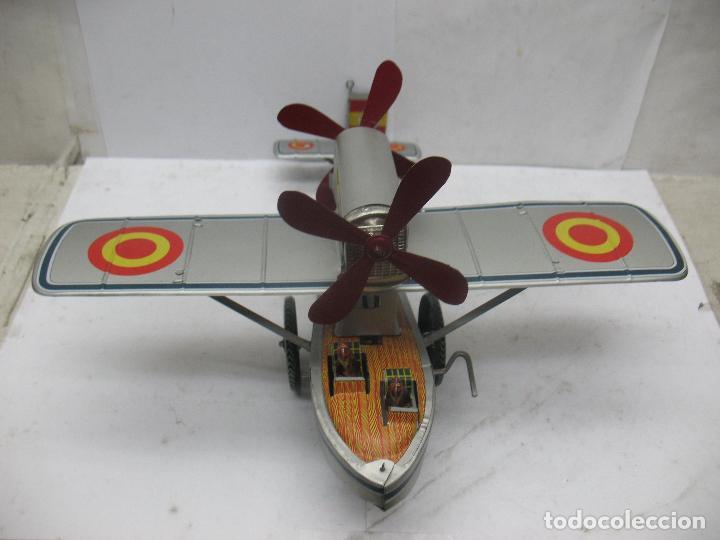Juguetes antiguos Payá: PAYÁ Ref: 1653 - Réplica avión de la Colección Payá Hermanos 1985 - Foto 3 - 67570993