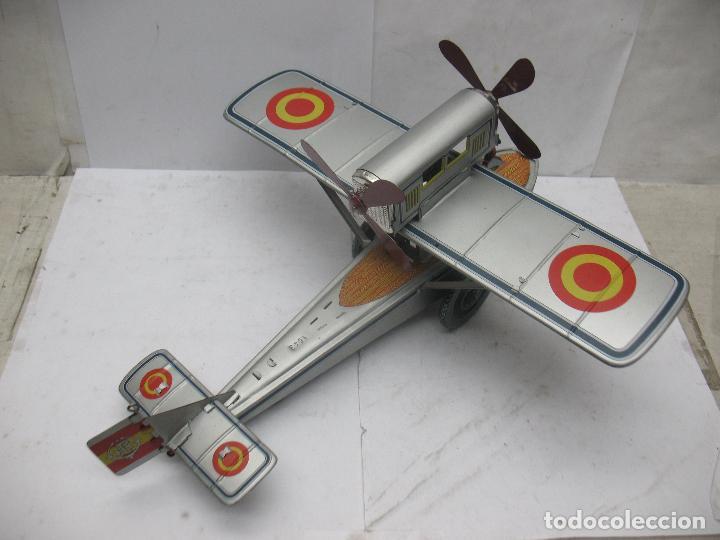 Juguetes antiguos Payá: PAYÁ Ref: 1653 - Réplica avión de la Colección Payá Hermanos 1985 - Foto 5 - 67570993