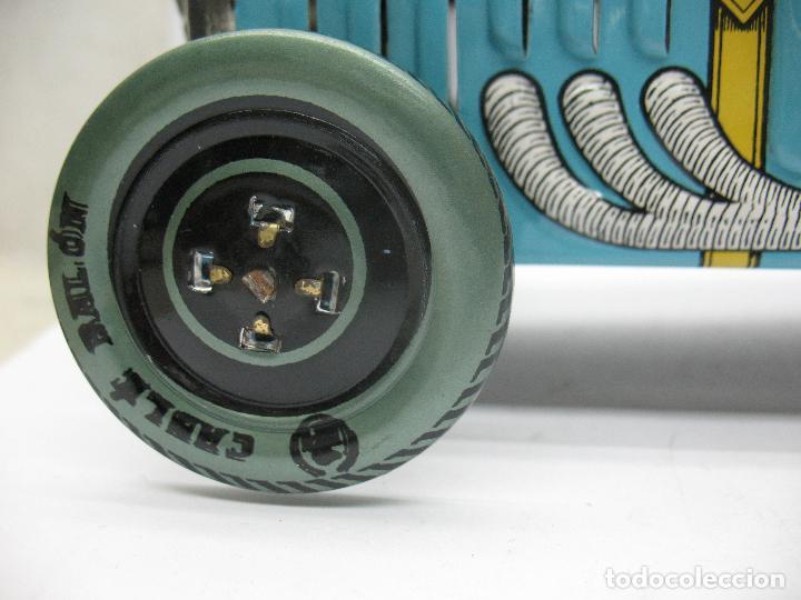 Juguetes antiguos Payá: Paya Edición Especial - Réplica coche de carreras 2 con mecanismo a cuerda - Foto 4 - 70533561