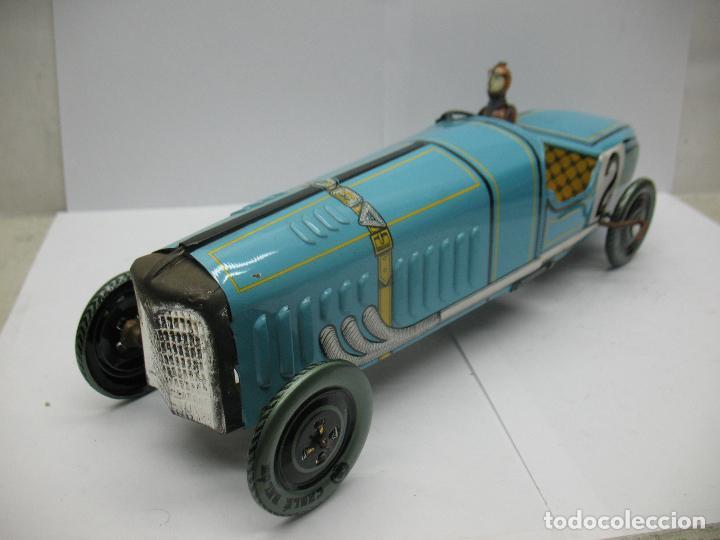 Juguetes antiguos Payá: Paya Edición Especial - Réplica coche de carreras 2 con mecanismo a cuerda - Foto 6 - 70533561