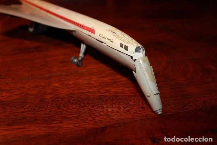 Juguetes antiguos Payá: Avion concorde de paya juguete friccion juguetes juego - Foto 2 - 80878083