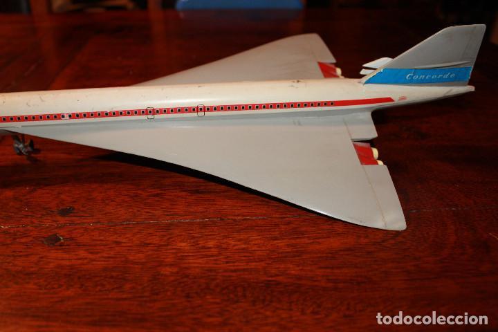 Juguetes antiguos Payá: Avion concorde de paya juguete friccion juguetes juego - Foto 3 - 80878083