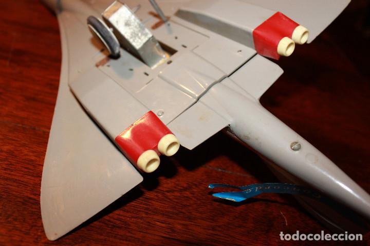 Juguetes antiguos Payá: Avion concorde de paya juguete friccion juguetes juego - Foto 6 - 80878083