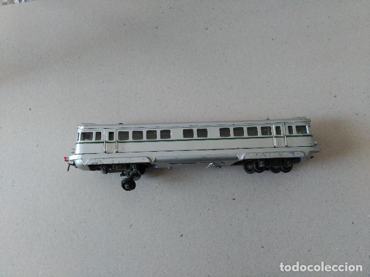 Juguetes antiguos Payá: Tren marca PAYA, Modelo 595 TAF. Escala S, años 40-50,caja mediana. - Foto 3 - 26524346