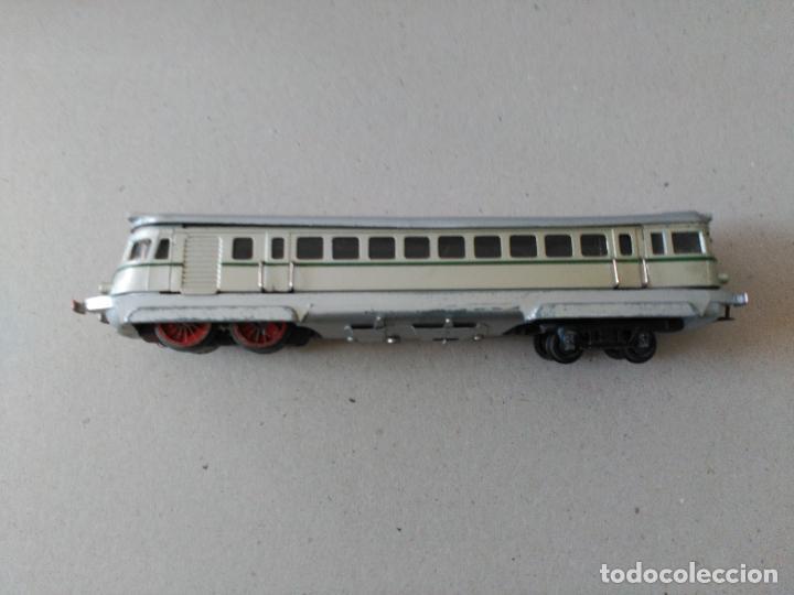 Juguetes antiguos Payá: Tren marca PAYA, Modelo 595 TAF. Escala S, años 40-50,caja mediana. - Foto 4 - 26524346