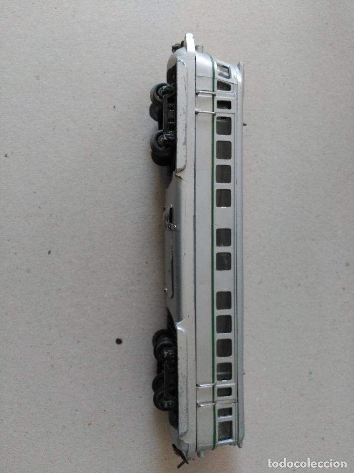 Juguetes antiguos Payá: Tren marca PAYA, Modelo 595 TAF. Escala S, años 40-50,caja mediana. - Foto 6 - 26524346