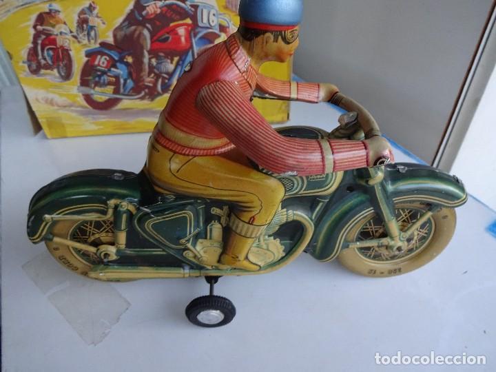 Juguetes antiguos Payá: PAYA. Moto a fricción. REF. 813. En caja original - Foto 3 - 87481132