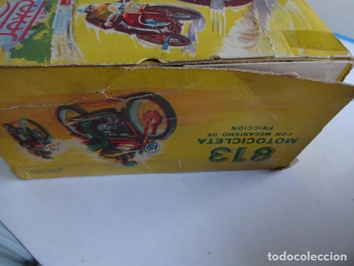 Juguetes antiguos Payá: PAYA. Moto a fricción. REF. 813. En caja original - Foto 5 - 87481132
