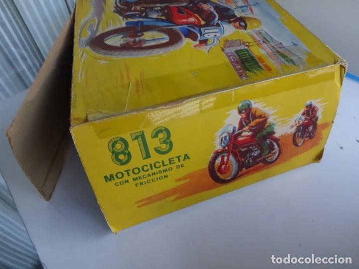 Juguetes antiguos Payá: PAYA. Moto a fricción. REF. 813. En caja original - Foto 6 - 87481132