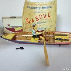 Juguetes antiguos Payá: BARCA PAYA REMOS. Lote 94573568