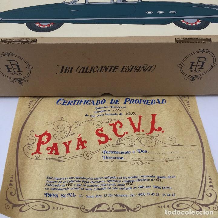 Juguetes antiguos Payá: Packard Mod. 698 Payá - Foto 6 - 95375971