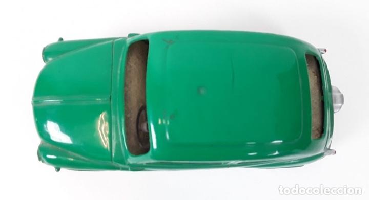 Juguetes antiguos Payá: SEAT 600 A FRICCIÓN EN RESINA. VERDE. PAYA. ESPAÑA. CIRCA 1980. - Foto 6 - 91795270