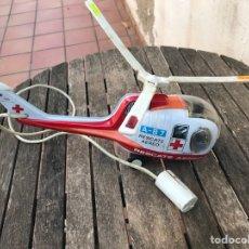 Brinquedos antigos Payá: HELICÓPTERO DE RESCATE AÉREO PAYA A B-7 JUGUETES DE CHAPA. Lote 99817578