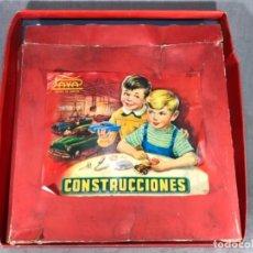 Juguetes antiguos Payá: JUEGO DE CONSTRUCCIÓN DE COCHES PAYA. Lote 102646995