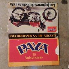Juguetes antiguos Payá: PAYA IBI ALICANTE 75 ANIVERSARIO.. Lote 108250952