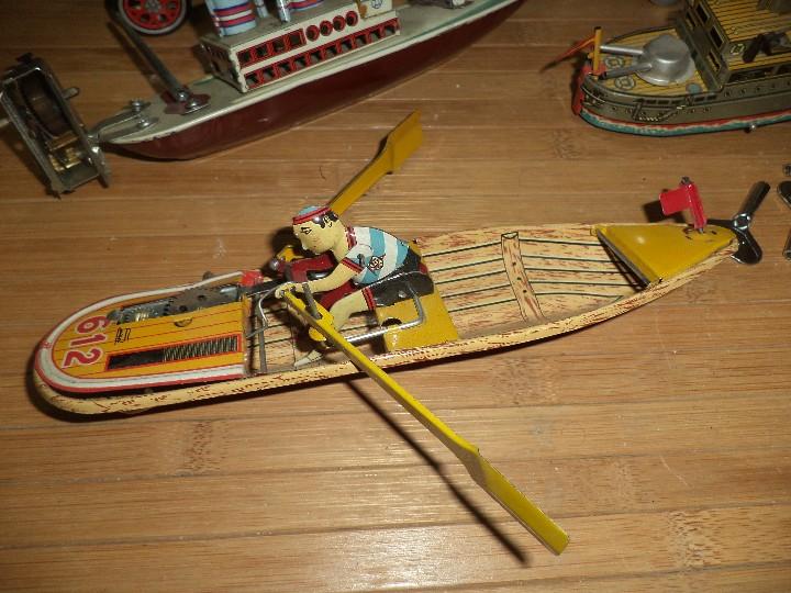 Juguetes antiguos Payá: Lote de 5 juguetes de hojalata PAYA,reproducciones de antiguos juguetes de hojalata. - Foto 2 - 108303023