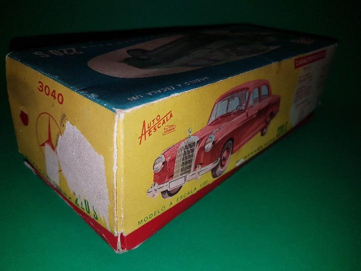 Juguetes antiguos Payá: MERCEDES 220 S de PAYA, escala 1/20, en caja (FUNCIONANDO) - Foto 12 - 111952947