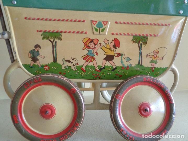 Juguetes antiguos Payá: CARRO CUNA CON CAPOTA DE PAYA.EL GRANDE - Foto 6 - 112731575