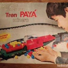 Juguetes antiguos Payá: TREN MINERO DE PAYÁ. Lote 112805891