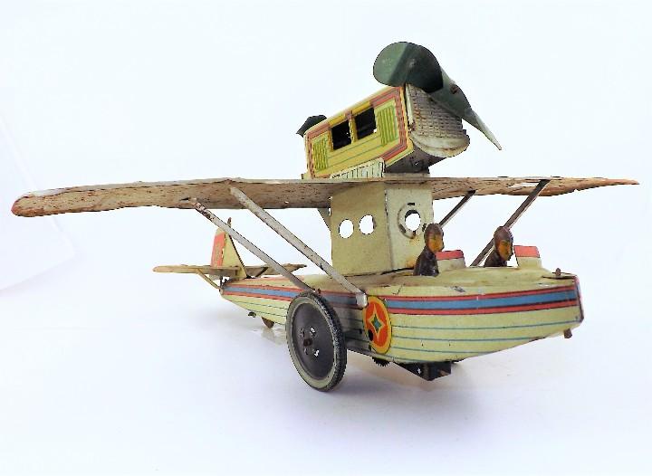 Juguetes antiguos Payá: Payá Avión 916 PLUS ULTRA ORIGINAL - Foto 4 - 46086503