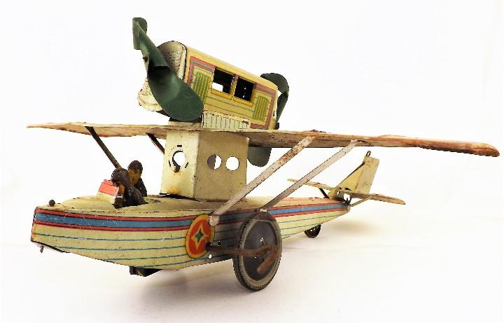 Juguetes antiguos Payá: Payá Avión 916 PLUS ULTRA ORIGINAL - Foto 5 - 46086503