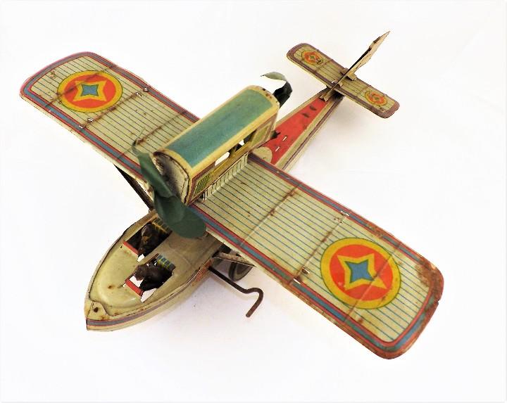 Juguetes antiguos Payá: Payá Avión 916 PLUS ULTRA ORIGINAL - Foto 6 - 46086503