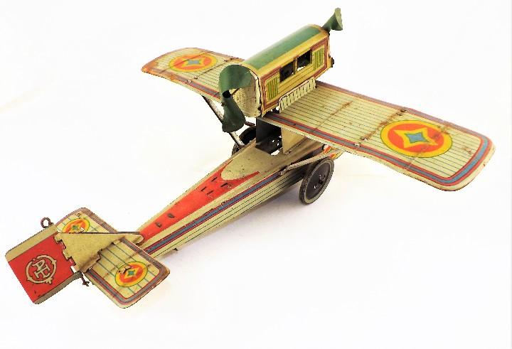 Juguetes antiguos Payá: Payá Avión 916 PLUS ULTRA ORIGINAL - Foto 9 - 46086503
