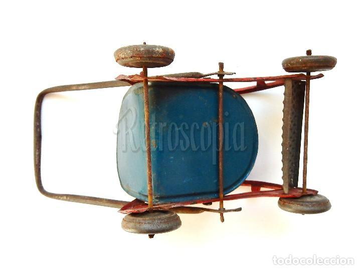 Juguetes antiguos Payá: SILLA SILLITA DE HOJALATA LITOGRAFIADA DE PAYÁ. AÑOS 30 - 40 - Foto 6 - 114393539