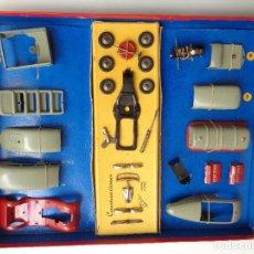 Juguetes antiguos Payá: CAJA CONSTRUCCION 7 MODELOS AUTOTIPO INDUSTRIAL.Nº 703. Lote 114443803