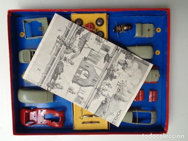Juguetes antiguos Payá: CAJA CONSTRUCCION 7 MODELOS AUTOTIPO INDUSTRIAL.Nº 703 - Foto 2 - 114443803