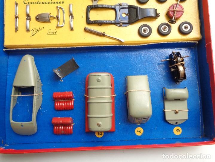 Juguetes antiguos Payá: CAJA CONSTRUCCION 7 MODELOS AUTOTIPO INDUSTRIAL.Nº 703 - Foto 4 - 114443803