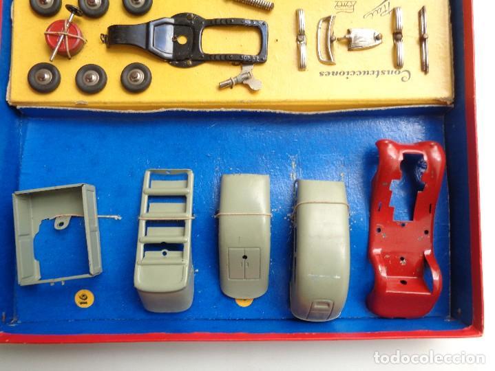 Juguetes antiguos Payá: CAJA CONSTRUCCION 7 MODELOS AUTOTIPO INDUSTRIAL.Nº 703 - Foto 5 - 114443803