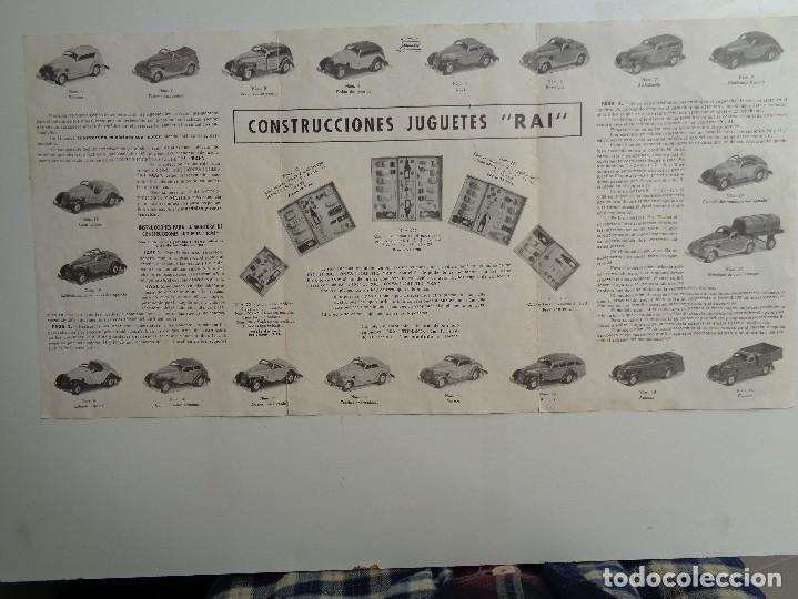 Juguetes antiguos Payá: CAJA CONSTRUCCION 7 MODELOS AUTOTIPO INDUSTRIAL.Nº 703 - Foto 10 - 114443803