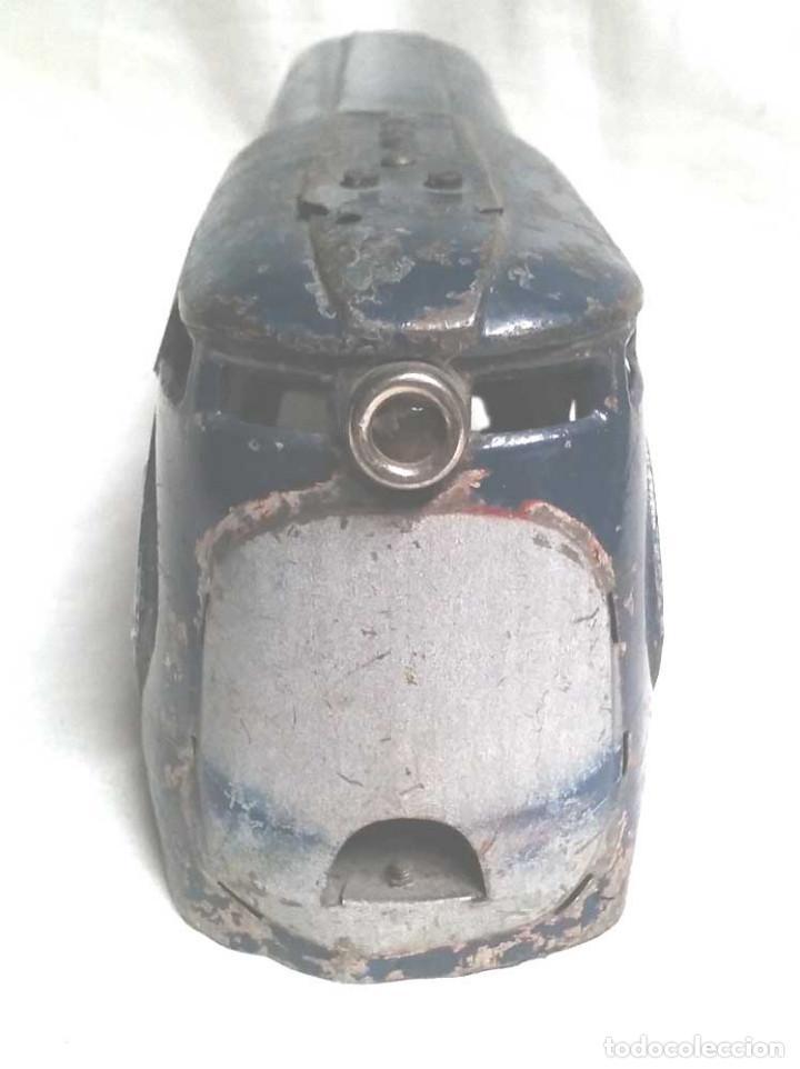 Juguetes antiguos Payá: Talgo Tren electrico Articulado años 40 de Payá, escala 0, motor desmontado - Foto 2 - 114477479