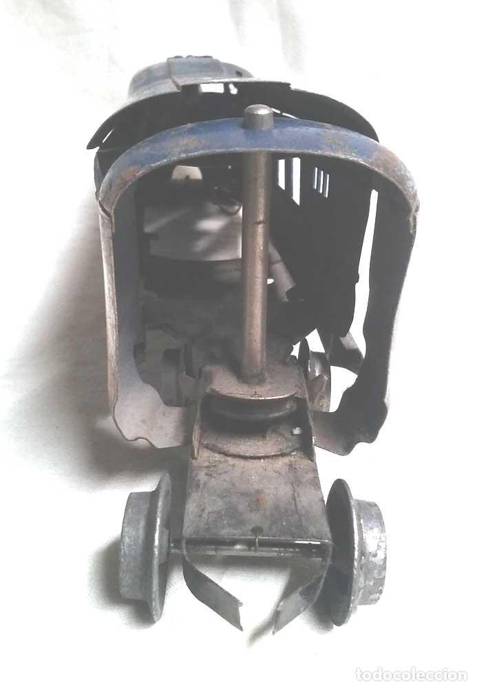 Juguetes antiguos Payá: Talgo Tren electrico Articulado años 40 de Payá, escala 0, motor desmontado - Foto 4 - 114477479