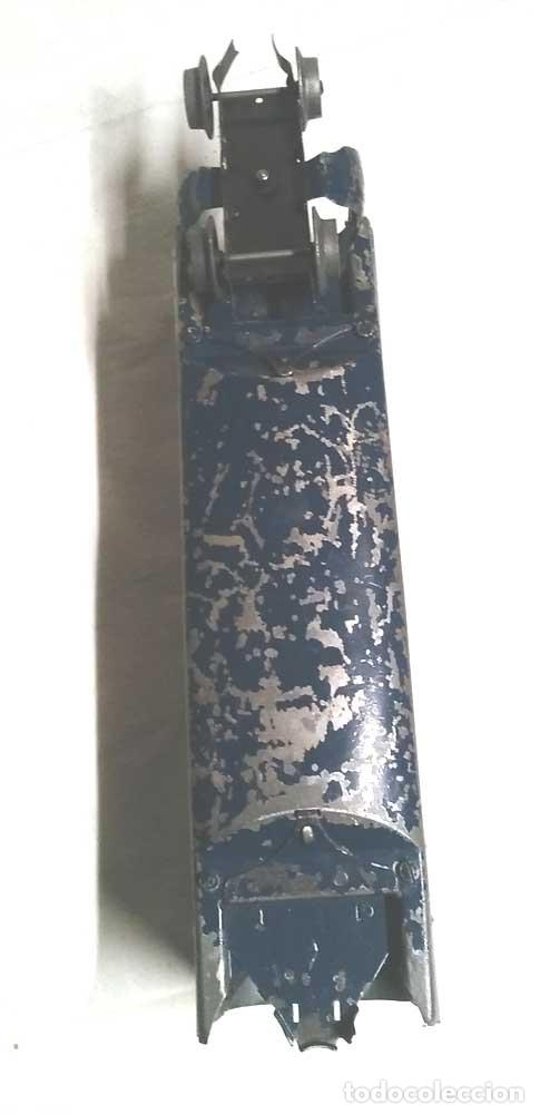 Juguetes antiguos Payá: Talgo Tren electrico Articulado años 40 de Payá, escala 0, motor desmontado - Foto 10 - 114477479