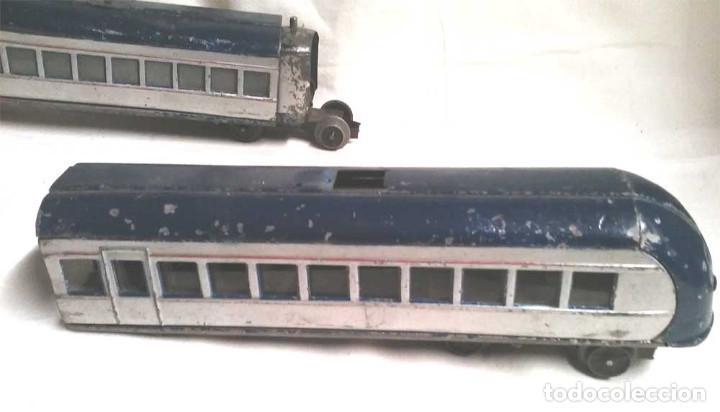 Juguetes antiguos Payá: Talgo Tren electrico Articulado años 40 de Payá, escala 0, motor desmontado - Foto 11 - 114477479