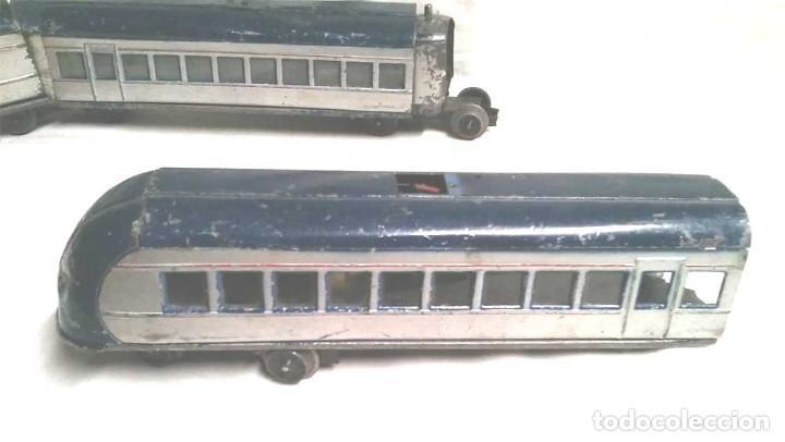 Juguetes antiguos Payá: Talgo Tren electrico Articulado años 40 de Payá, escala 0, motor desmontado - Foto 13 - 114477479