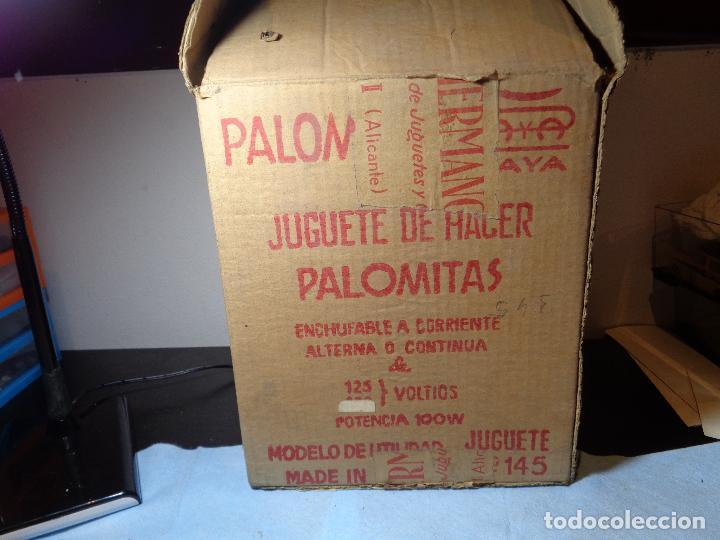 Juguetes antiguos Payá: PALOMITON PAYA AÑOS 60 NUEVO CON SU CAJA ORIGINAL 125V - Foto 2 - 115497335