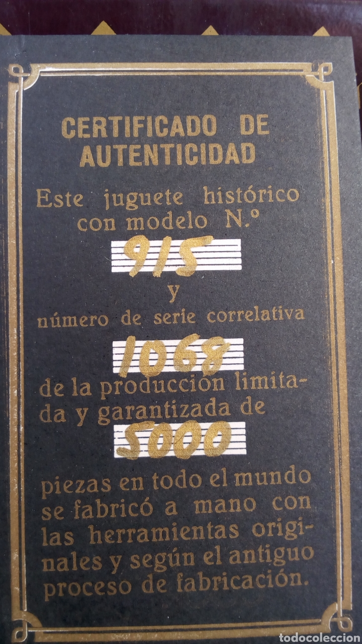 Juguetes antiguos Payá: BOLIDO PAYA. AUTO CARRERAS 915. SERIE LIMITADA 5000 PIEZAS. 1985. NO RICO. JYESA - Foto 3 - 118982550