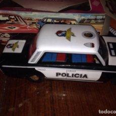 Juguetes antiguos Payá: COCHE POLICIA PAYA 1960 ORIGINAL. Lote 56309084