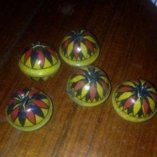 Juguetes antiguos Payá: BOLA SONAJERO PAYA 1930 CHAPA. Lote 56308731
