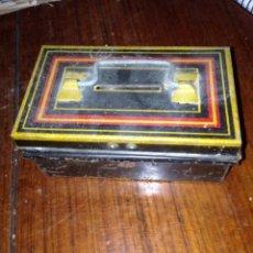Juguetes antiguos Payá: CAJA PAYA DE CHAPA 1950. Lote 56469093